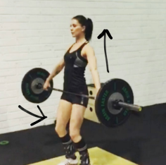 Correct Snatch Power Position